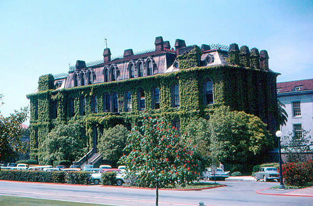 Berkeley - South Hall by Roger W